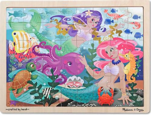 Melissa and Doug Jigsaw Puzzles for Kids - Mermaid Fantasea
