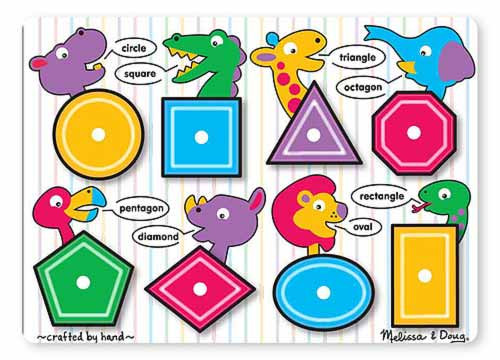 Children's Puzzles - Shapes