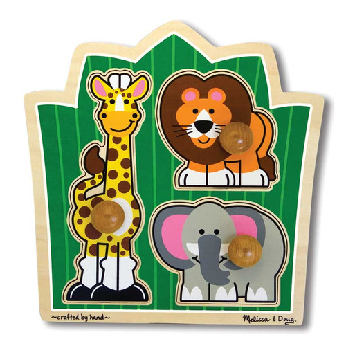 Children's Puzzles - Jungle Friends