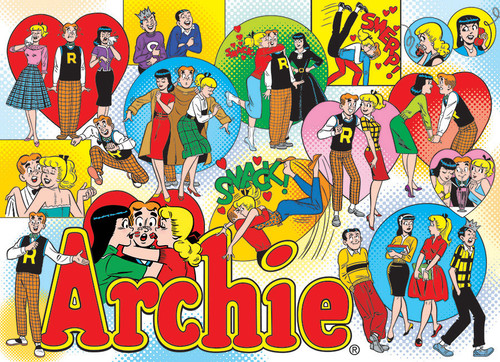 Archie: Classic Archie - 1000pc Jigsaw Puzzle by Cobble Hill