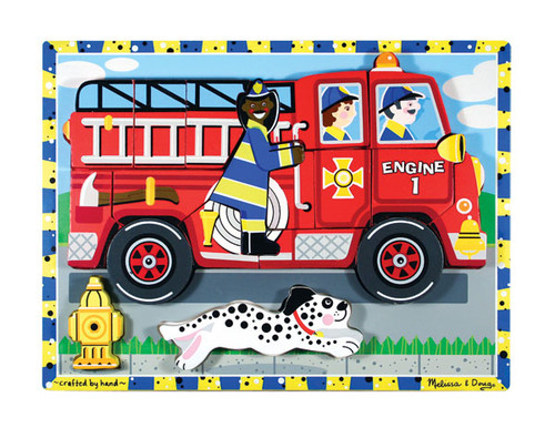 Children's Puzzles - Fire Truck
