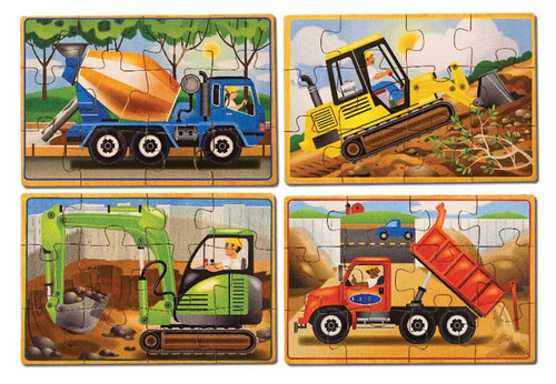 Jigsaw Puzzles For Kids - Construction