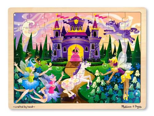 Wooden Jigsaw Puzzles - Fairy Castle
