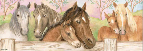 Melissa and Doug Floor Puzzles - Horse Corral