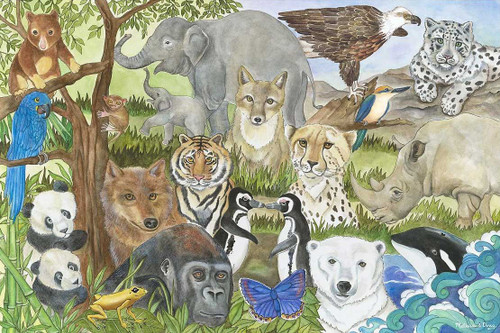 Melissa and Doug Floor Puzzles - Endangered Species