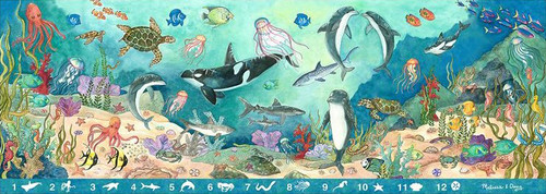 Melissa and Doug Floor Puzzles - Search & Find Beneath the Waves