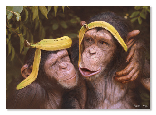 Melissa & Doug Cheeky Chimps Jigsaw Puzzle