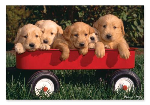 Melissa & Doug Puppy Wagon Jigsaw Puzzle