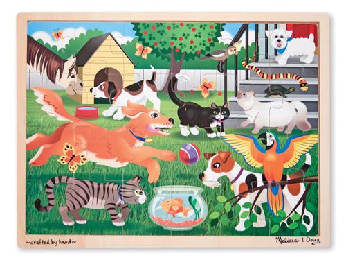 Melissa & Doug Pets Wooden Jigsaw Puzzle