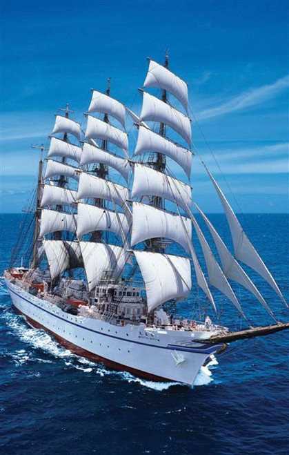 Sailing Ships - 1000pc Jigsaw Puzzle By Clementoni (discon)