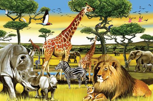 Cobble Hill Children's Puzzles - African Plains