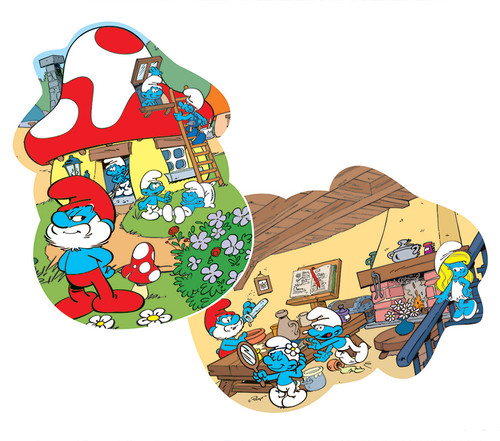 Papa's House - 24pc Floor Puzzle by Cobble Hill
