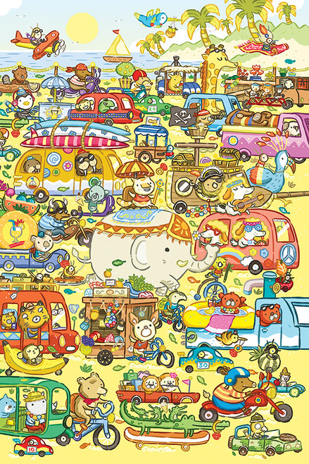 Traffic Jam - 60pc Kids Puzzle by Cobble Hill