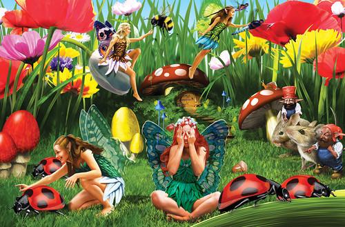 Ladybug Fairies - 60pc Kids Puzzle by Cobble Hill (discon-22618)