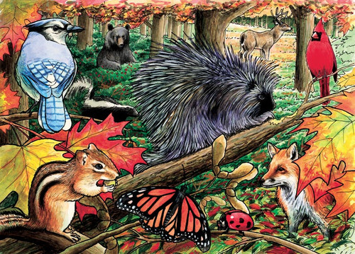 Cobble Hill Children's Puzzles - Eastern Woodlands