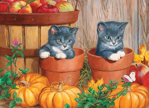 Cobble Hill Children's Puzzles - Little Pumpkins