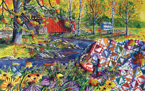 Jigsaw Puzzles - Autumn Picnic