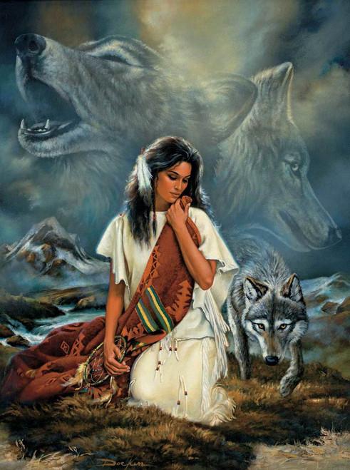 Native American Puzzles - Companionship