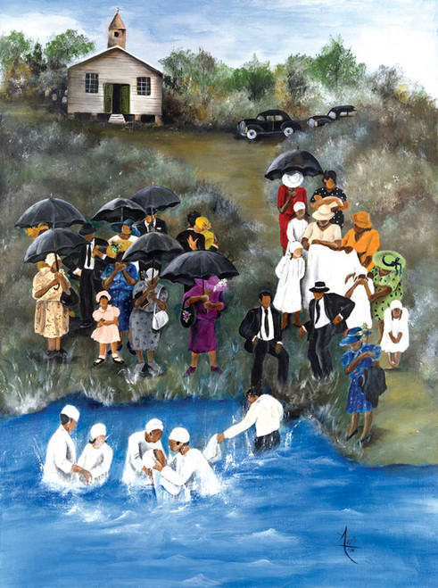 Annie Lee: Baptism - 1000pc Jigsaw Puzzle by Sunsout (discon)
