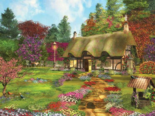 Large Format Jigsaw Puzzles - Country Path