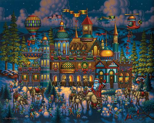 Dowdle Jigsaw Puzzles - Santa's Workshop