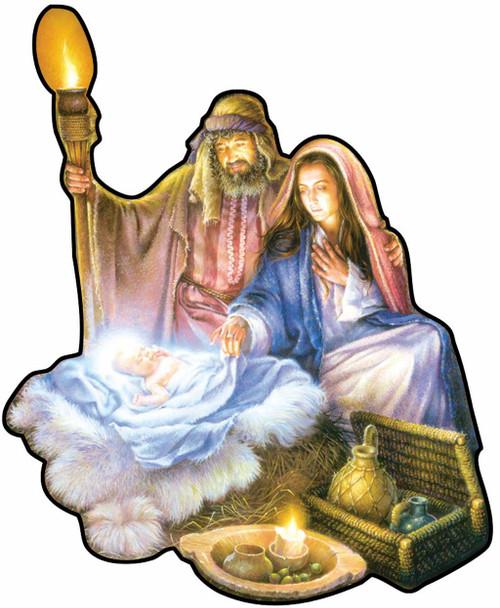 Shaped Jigsaw Puzzles - The Nativity