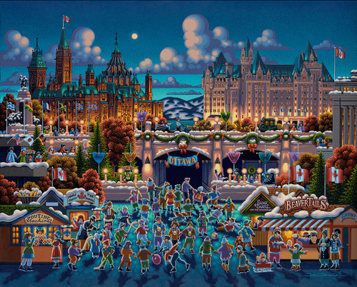 Dowdle Jigsaw Puzzles - Ottawa