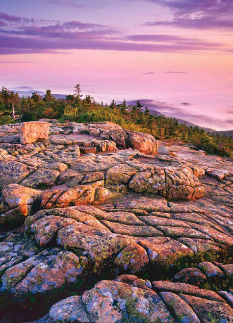 Jigsaw Puzzles - First Light At Cadillac Mountain