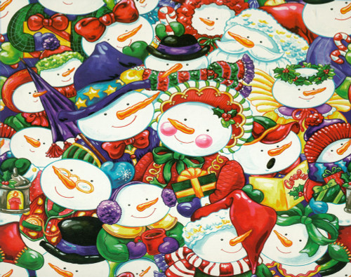 Christmas Puzzles - Smiling Snowmen