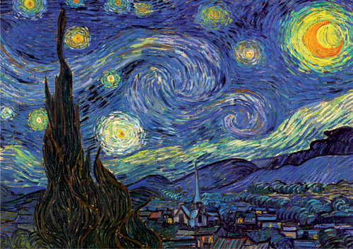 D-Toys The Starry Night: Van Gogh Jigsaw Puzzle