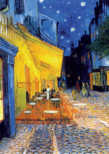 D-Toys Café Terrace at Night: Van Gogh Jigsaw Puzzle