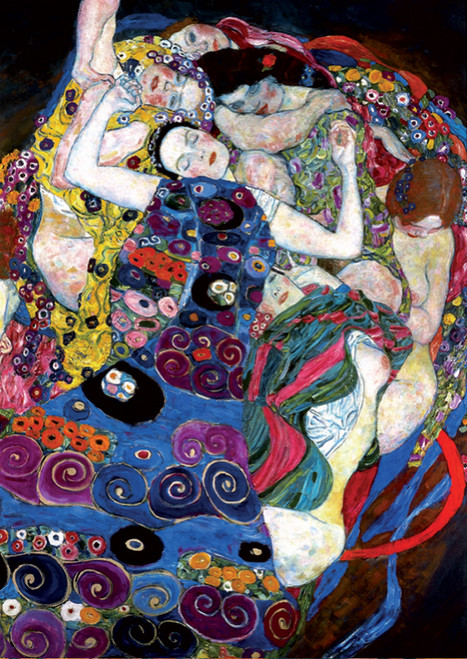 D-Toys The Virgin: Klimt Jigsaw Puzzle