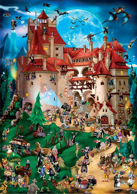 D-Toys Transylvania Jigsaw Puzzle