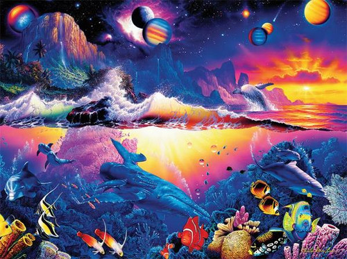 Christian Riese Lassen: Galaxy of Life - 1000pc Jigsaw Puzzle by Ceaco