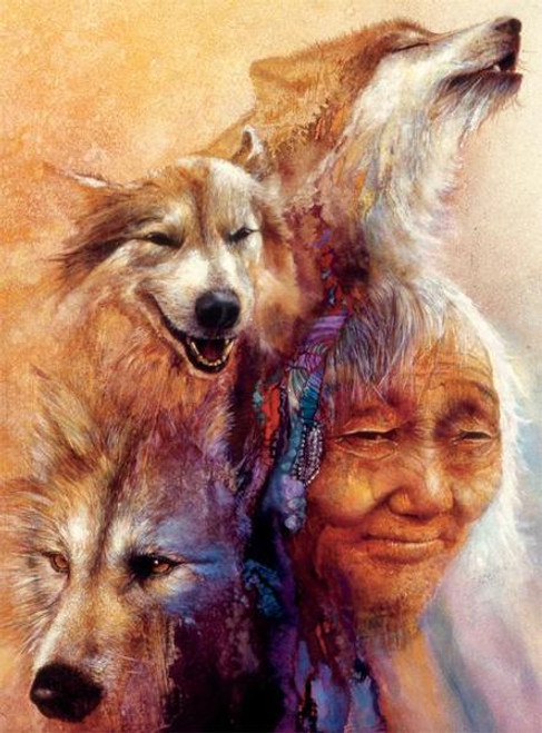 Native Spirit: Medicine Woman - 1000pc Jigsaw Puzzle by Ceaco