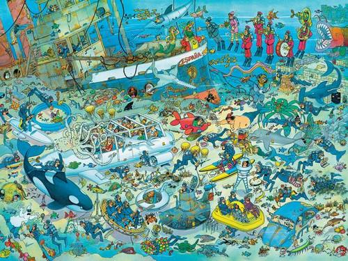 Jan van Haasteren: Undersea Fun - 1500pc Jigsaw Puzzle by Ceaco