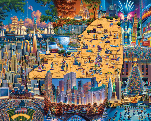 Best of New York - 500pc Jigsaw Puzzle by Dowdle