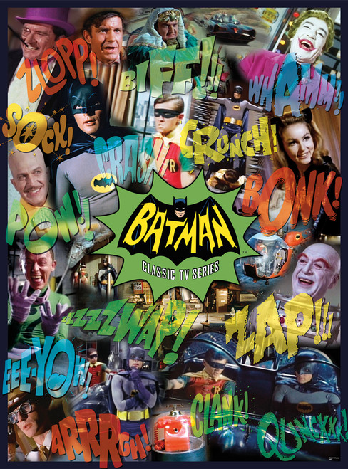 DC: Batman TV - 1000pc Jigsaw Puzzle by Aquarius