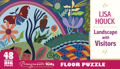 Houck: Landscape with Visitors - 48pc Floor by Pomegranate