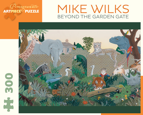 Wilks: Beyond the Garden Gate - 300pc Jigsaw Puzzle by Pomegranate