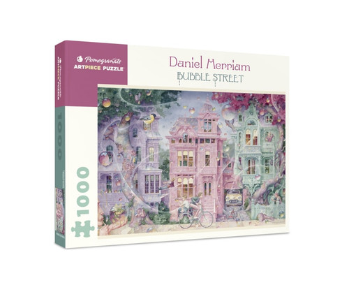 Merriam: Bubble Street - 1000pc Jigsaw Puzzle by Pomegranate