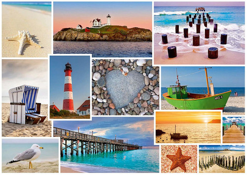 By the Sea - 1000pc Jigsaw Puzzle by Schmidt