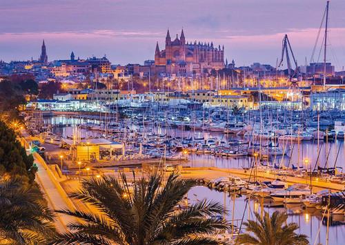Palma de Mallorca - 1000pc Jigsaw Puzzle by Schmidt