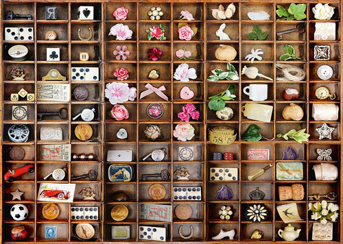 Miniature Treasures - 2000pc Jigsaw Puzzle by Schmidt