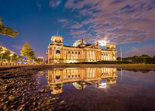 Reichstag, Berlin - 1000pc Jigsaw Puzzle by Schmidt