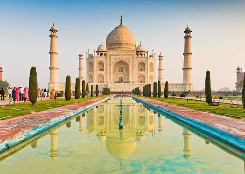 Taj Mahal - 1000pc Jigsaw Puzzle by Schmidt