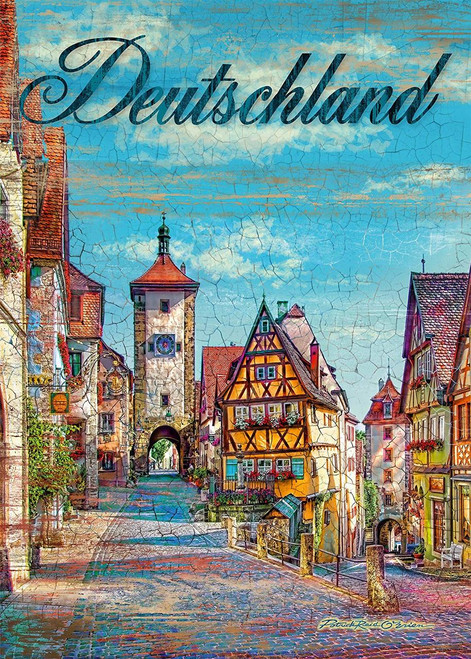 Germany - 1000pc Jigsaw Puzzle by Schmidt