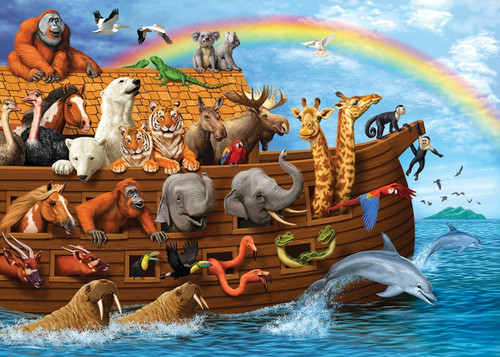 Voyage of the Ark - 35pc Tray Puzzle by Cobble Hill