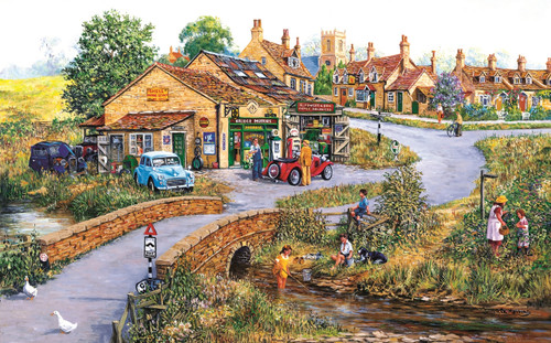 Bridge Motors - 300pc Large Format Jigsaw Puzzle by SunsOut