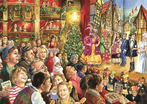 Christmas Pantomime - 1000pc Jigsaw Puzzle By Falcon